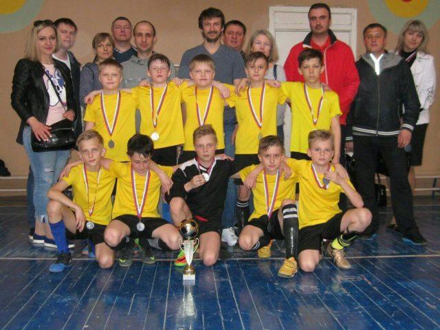 Полуфинальные и финальный матч турнира «Азбука футбола».